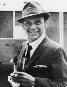 Sinatra With Props In Recording Studio