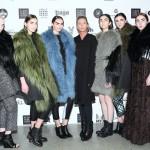 Анастасия Гасси с моделями