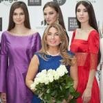 Галина Васильева с моделями