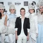 Кирилл Минцев с моделями