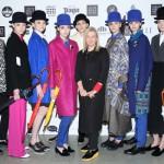 Виктория Андреянова с моделями