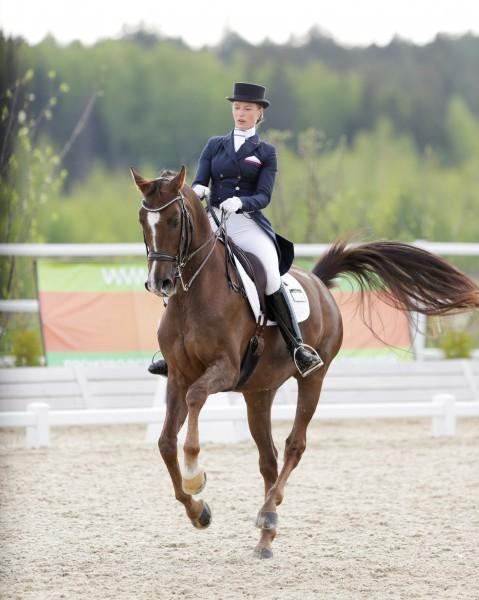 Марина Афрамеева, член сборной России по конному спорту