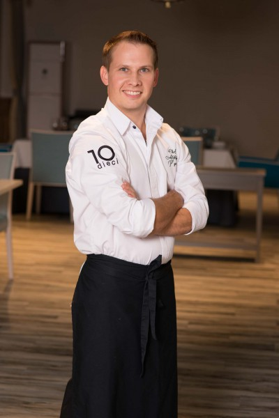 Александр Пьянков 31 год, шеф-повар итальянского ресторана Dieci.