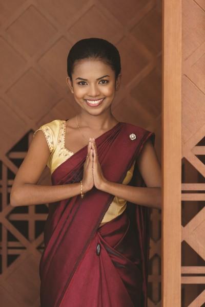 portrait Sri Lankan welcoming